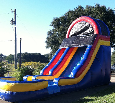 18' Rajun Cajun Slide Rental - Fun Jumps of Abbeville