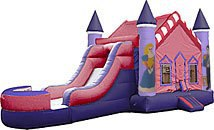 Princess Castle Inflatable - Fun Jumps of Abbeville