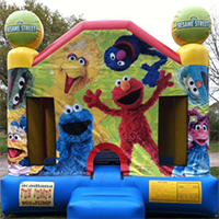 Sesame Street Fun Jump Rental - Fun Jumps of Abbeville