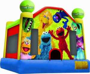 Fun Jump Rental: Sesame Street - Fun Jumps of Abbeville